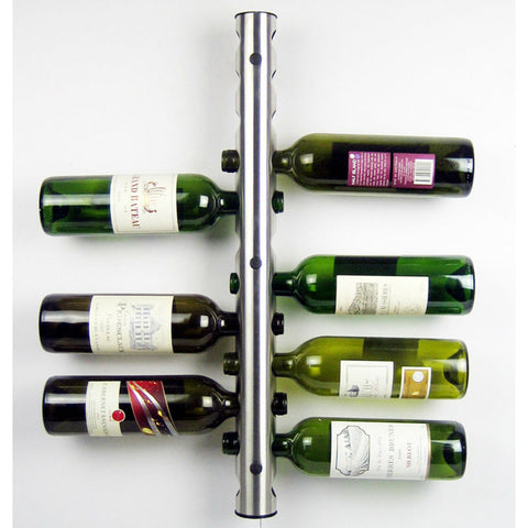 8 Holes 12 Holes Stainless Steel Wine Holders Kitchen Bar Wine Racks Holder Wine Bottle Display Stand Rack Organizer