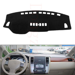 Dongzhen Fit For Nissan Tiida 2005-2010 Car Dashboard Cover Avoid Light Pad Instrument Platform Dash Board Cover