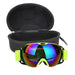Double Lens UV400 Big Ski Mask Glasses Skiing Goggles Anti-fog Ski Snowboard Snowboarding Glasses Winter Ice Snow Skiing Eyewear