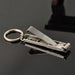 EDC Ultra-thin Foldable Hand Toe Nail Clippers Cutter Trimmer Stainless KeychainQuality