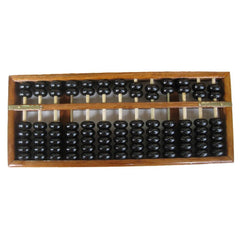 FBIL-Vintage-Style Chinese Wooden Abacus, Chinese Lucky Calculator