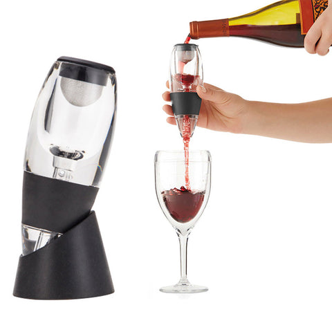 Wine Aerator Decanter Set Family Party Hotel Fast Aeration Wine Pourer Magic Decanter FP8