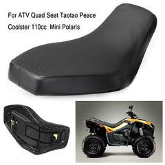 Foam Quad Seat Cushion Cover For Kids Mini/Polaris ATV Quad Seat Taotao Peace Coolster 110cc