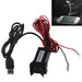 For toyota usb charger adapter port cable interface audio socket 2.1A 12V-24V Phone Dual USB Charge For toyota Car Auto