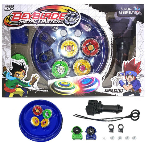 4pcs/set Beyblade Arena Spinning Top Metal Fight Beyblad Beyblade Metal Fusion ChildrenClassic Toys