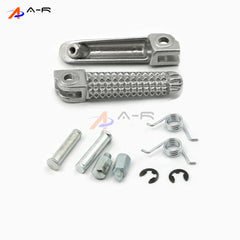 Front Footpeg Footrest Anti-Slip Foot Rests Pegs Pedal for Yamaha YZF R1 R1M R6 MT-01 MT-03 FZ-03 MT-07 MT-09 YZF600 YZF1000