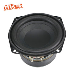 GHXAMP 4.5 inch 4OHM 50W Subwoofer Speaker Woofer 30 Core Voice Coil Wrinkled Cone Foam Side High Power Speaker 1PCS