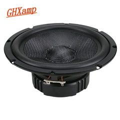 GHXAMP 6.5 inch Full Range Speaker 4ohm 40W Fiberglass Deep Woofer Bass Loudspeaker For Bookshelf Car Audio Modification 1PC