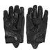 Men Motorcycle Gloves Outdoor Sports Full Finger Motorcycle Riding Protective ArmorBlack Short Leather Gloves