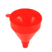 Universal Vehicle Plastic Filling Funnel with Soft Pipe Spout Pour Oil Tool Petrol Diesel