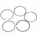 GY6 80cc Piston Rings Kit 47mm Big Bore Rings Set Moped Scooter 139QMB