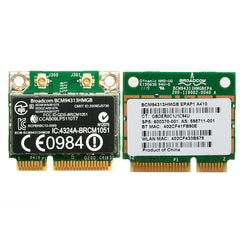 Half Mini PCI-E 802.11n Wifi Card Bluetooth BCM94313HMGB 600370-001 for DELL HP