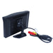 800*480 car reversing monitor bring hd lcd display and plastic shell material fit for different kinds of cars