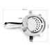 Homestia304 Stainless Steel Bar Strainer with Bar Stirring Spoon Bartender Mixing Spoon Bar Tools