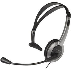 KX-TCA430 Corded Headset Foldable Headset 2.5mm Plug Volume Control Adjustable Microphone Mute