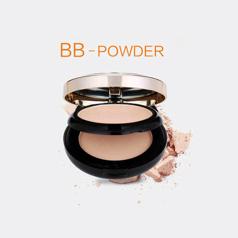 Luxury Makeup Mineral Foundation 2 Layer Waterproof Whitening Brighten Face Matte Powder Palette Contouring Makeup