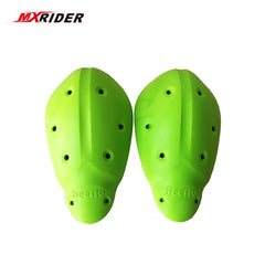 MXRIDER One Pair Super Soft CE Knee Elbow Protector Motorcycle Soft Armour Pads