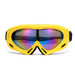 Men Women Single Layer Anti-fog Ski Glasses Dustproof Snowboard Sunglasses Skiing Goggles Snow Ski Eyewear for Children