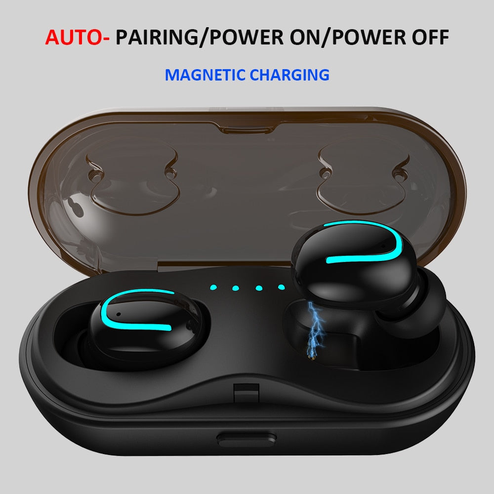 2ee70240335 Mini True TWS 5.0 Bluetooth Earphone with Charging Box Wireless Earbuds  Headphone Bluetooth for Samsung/
