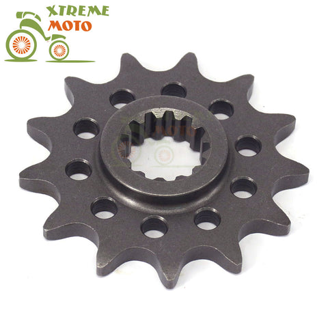 Motorcycle 13T Front Chain Sprocket For ZONGSHEN 77MM NC250 250cc KAYO T6 K6 BSE J5 RX3 ZS250GY-3 4 Valves Parts