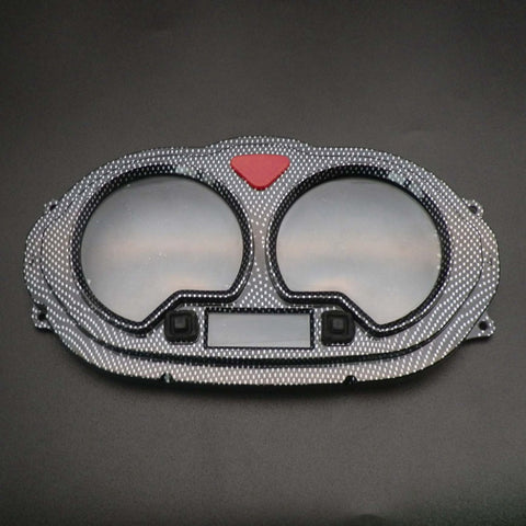 Motorcycle Carbon fiber Speedometer Gauges Cover Case For BENZHOU KEEWAY CPI GY6 BT49QT-12 Scooter