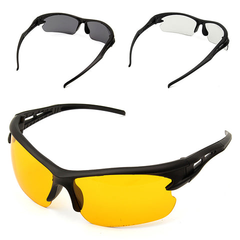 Three Color Safety Glasses Transparent Protective And Work Safety Glasses Wind And Dust Goggles Anti-Fog Medical