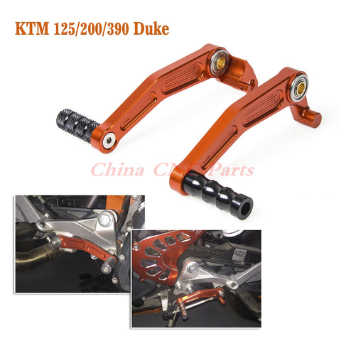NICECNC Foot Rests Foot Brake Clutch Gear Pedal Lever Shifting Lever for KTM Duke RC 125 200 390