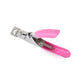 Nail Art Clipper Cutter For False Nail Edge Manicure Acrylic UV Gel False Tips Clipper Cutter Pink Manicure Cutter Clipper Tool