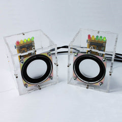 DIY Mini Speaker Kit  Individuality Mini Speakers Computer Small Transparent Speaker DIY Production For