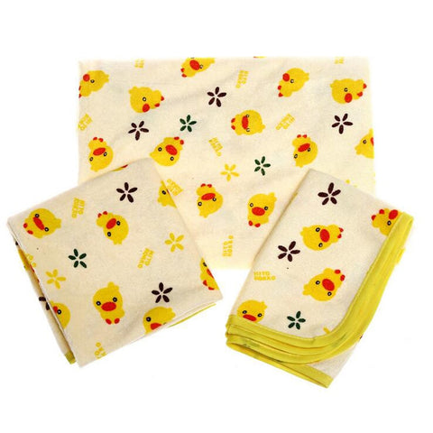 New Yellow Duckling Baby Infant Child Waterppoof Bed Sheet Absorbent Diaper Changing Mat Bedding Nappy Urinal Cover Pad Mattress