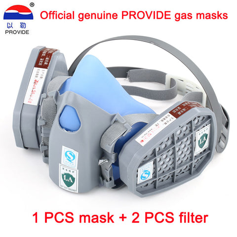to 9400 a silicone gas dust mask painting industrial protective respirator appliances for labor protection