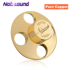 Nobsound Hi-End Hi-Fi Records LP Disc Stabilizer Turntables Vinyl Clamp Anti-skid Pure Copper Gold /Zinc alloy Silver