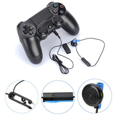 Original Headset for Sony Playstation 4 PS4 Gaming earphone Headphones with Microphone