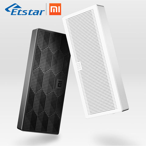 Original Xiaomi Bluetooth Speaker Square Box Bluetooth 4.0 Wireless Loudspeaker Mini Portable for Xiaomi Mobile Phone Metal Body