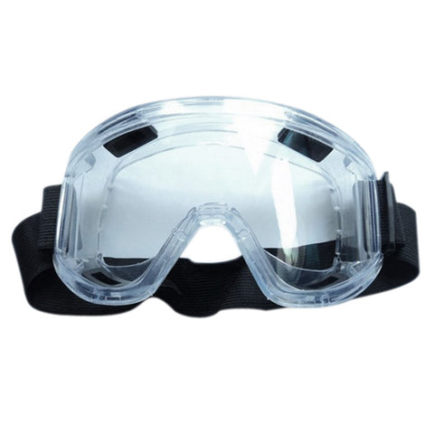 PC Lens Protective Glasses Splash Proof Eyes Safety Security Labor goggles Breather Valve Striking Resistant Midoni White