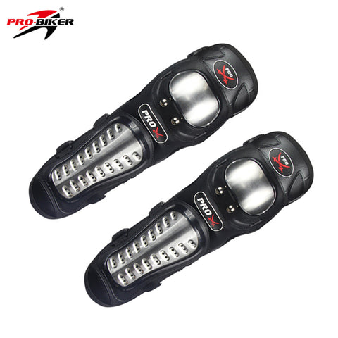 Riding Tribe Stainless Steel Protective Motorcycle Protective Gear Motorcycle Knee Pad Joint Lining Metal Buckle P15B