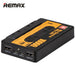 REMAX Power Bank 10000mAh Magnetic Tape Portable Charger Powerbank External Battery Backup Pack with Dual USB LED Flashlight
