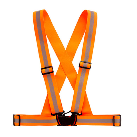 Reflective Safety Vest Strips for Construction Traffic Warehouse Visibility Security Jacket Reflective Strips Work Wear Uniforms