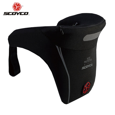 SCOYCO Motorcycle Riding Neck Protector Motocross Off-Road MX ATV Neck Guard Brace Enduro Rally Racing Protective Gear Support