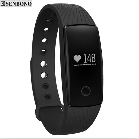 SENBONOV05C Smart Band Heart Rate Monitor Smart Wristband Pedometer Sleep Tracker Fitness Bracelet for IOS Android