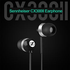 Sennheiser CX300II Earphones Music Headphones 3.5mm Wired Stereo Headset Enhanced Bass Earbuds Smart Phone Earphone