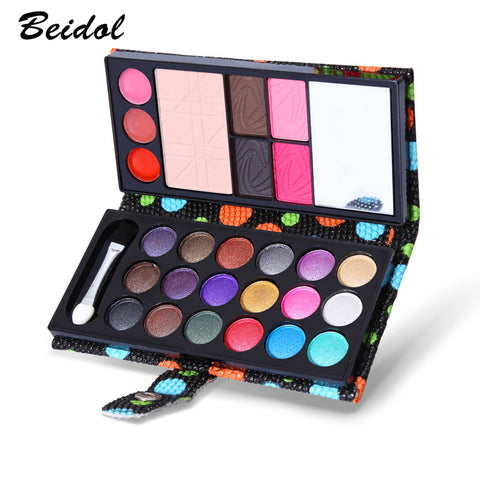 Small Makeup Eyeshadow Palette 26 ColorsEye Shadow Make Up Shadows With Case Cosmetics For Women Matte Long-lasting