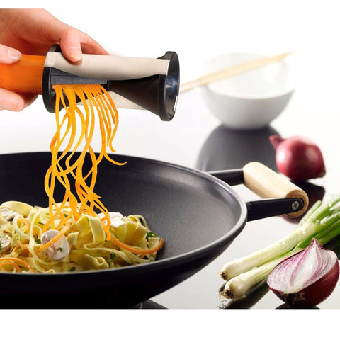 Spiral Vegetable Slicer Carrots Radish Graters Cutter Spiralizer Shred Device Kitchen Gadgets Cooking Tools Accessories