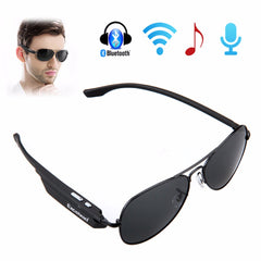 Sunglasses Bluetooth Headset Outdoor Glasses Earbuds Music with Mic Stereo Wireless Headphone for iPhone Samsung Sony