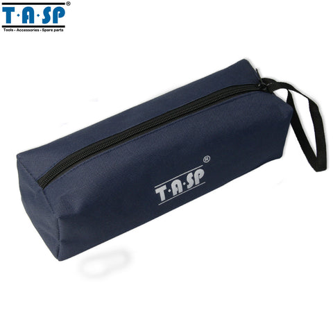 TASP Hand Tool Bag Oxford Cloth 600D Navy Blue Storage Bag 250x75x70mm