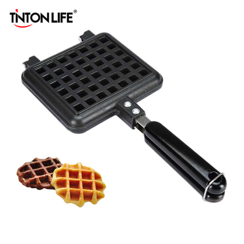 TINTON LIFE Waffle Mould Non-stick Cookie Cake Mold Waffles Pans DIY Muffins Mould for Love Breakfast Bakeware
