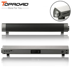 TOPROAD Portable Column Bluetooth Speaker Receiver Parlantes Blutooth 3D Surround Subwoofer HIFI Soundbar Boombox for Phone PC