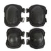 Tactical Protection Elbow & Knee Pads Set Sport Safety Pads Outdoor Protective Equipment Military CS Paintball Sporting Unisex