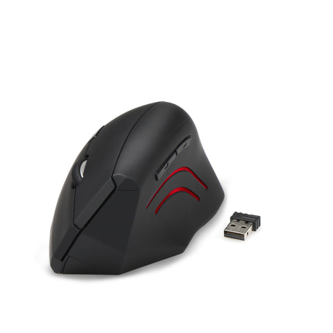 TeckNet2.4G Nano Vertical Ergonomic Optical Mouse 3 Adjustable DPI Levels 2000/1500/1000dPi 6 Buttons for pc computer