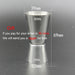 UPORS 550ML/750ML Cocktail Shaker Mixer Stainless Steel Wine Martini Boston Shaker For Bartender Drink Party Bar Tools